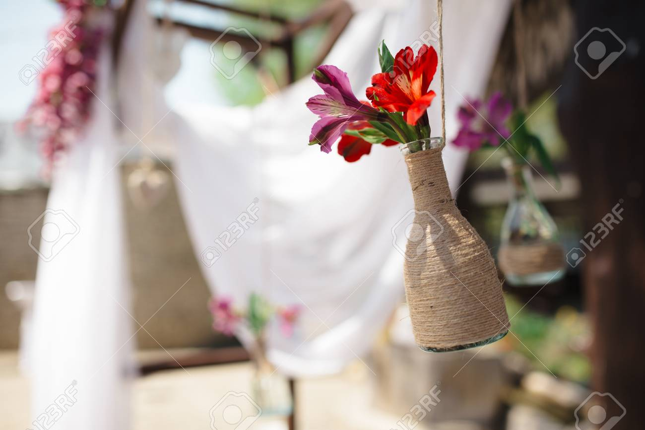 Decor Natural Elements Decorating With Natural Elements Bring The Outdoors In With This Closeup Shot Of The Outdoors Wedding Decoration Elements - Natural Flowers  At Daylight Stock Photo -
