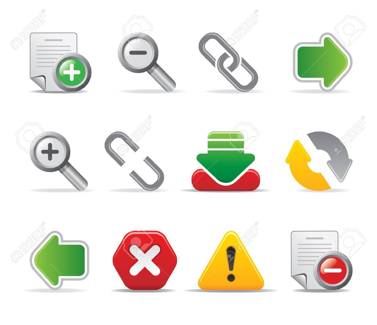 web page icons Stock Vector - 11206003