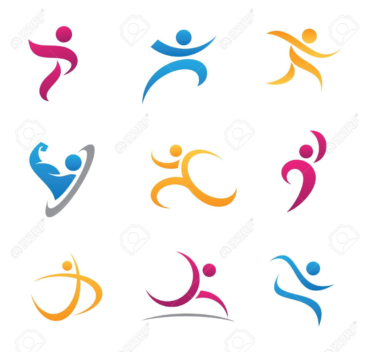 Sport symbol and icon Stock Vector - 20846731