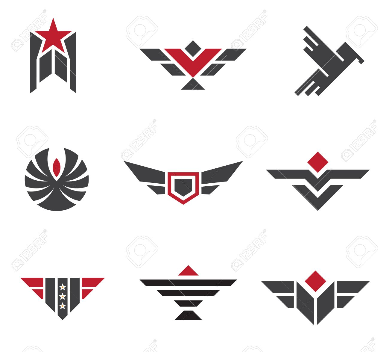 Army and military badges and strength symbols royalty free army and military badges and strength symbols stock vector 23682067 buycottarizona