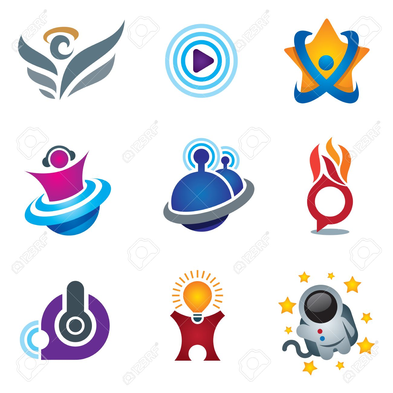 Entertainment and fun symbol of exploring happiness Stock Vector - 23869409