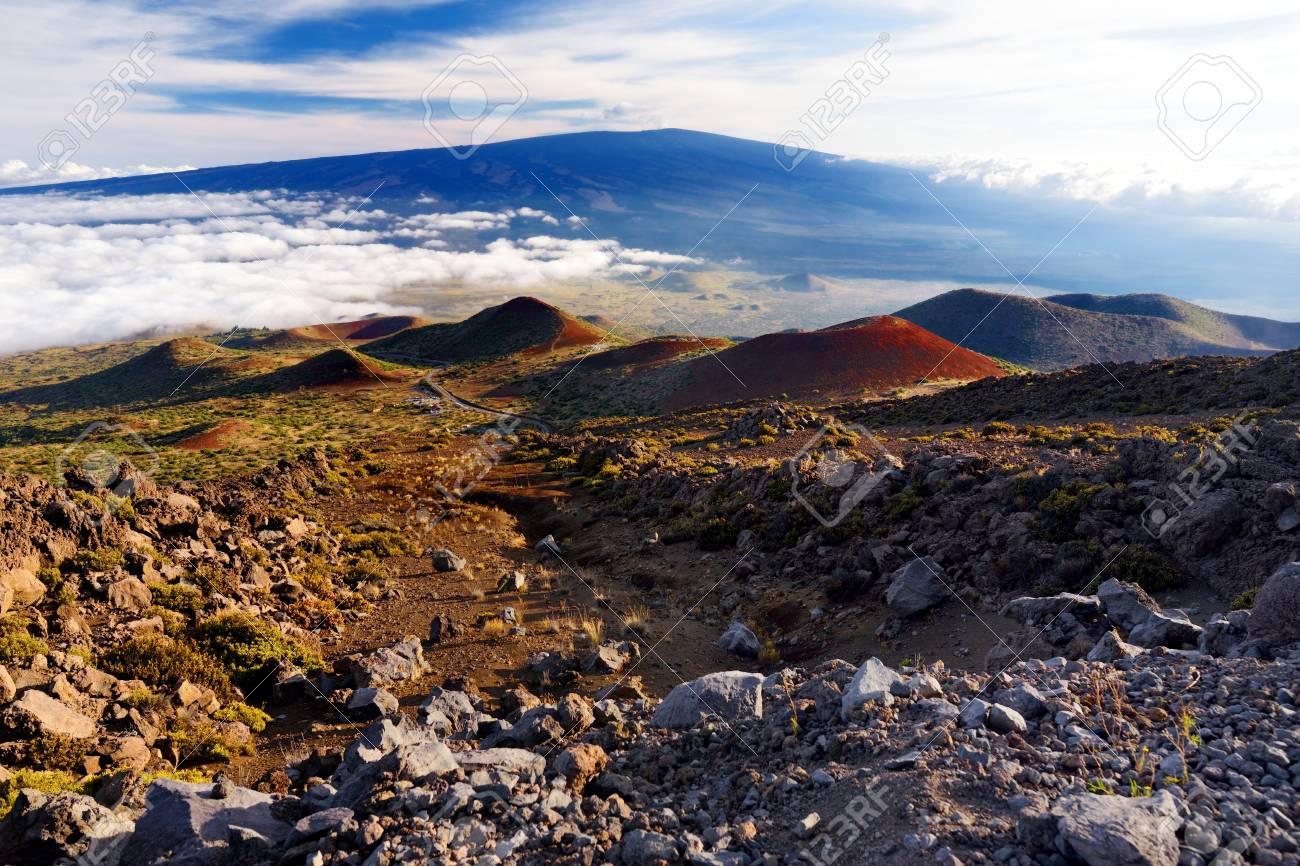 Breathtaking View Of Mauna Loa Volcano On The Big Island Of Hawaii