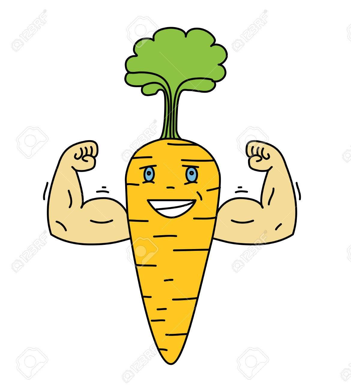 Zanahoria Verduras Animadas – Las zanahorias son raíces comestibles muy ricas en fibra y antioxidantes, con grandes.
