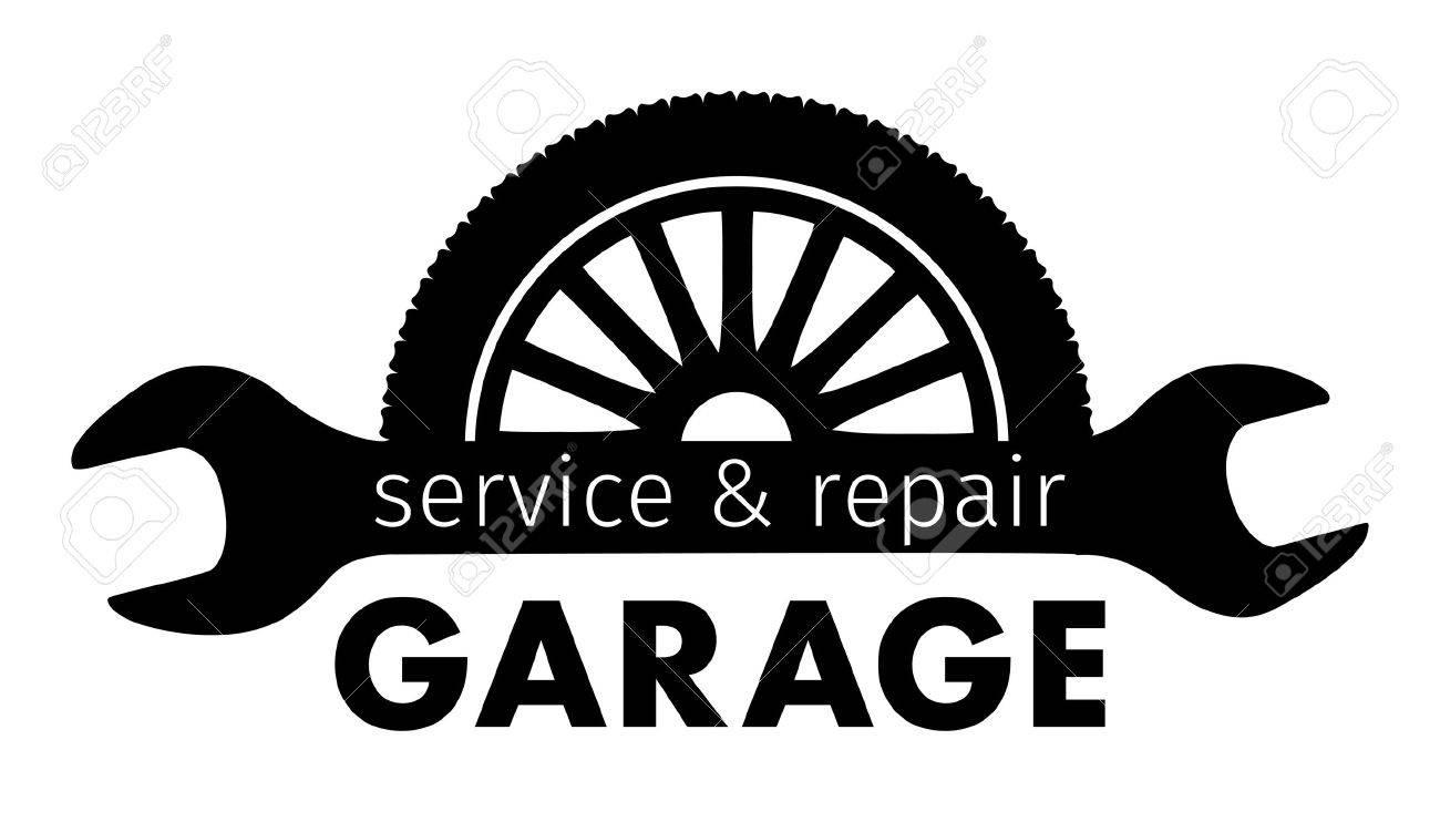 auto center garage service and repair logo vector template royalty