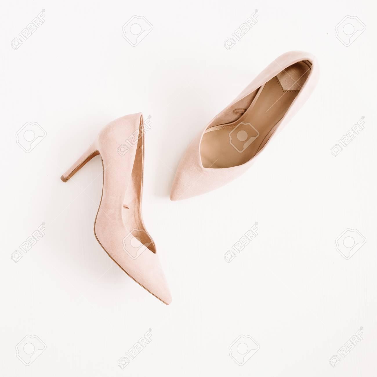 Fashion Blog Concept. Pale Pink Women