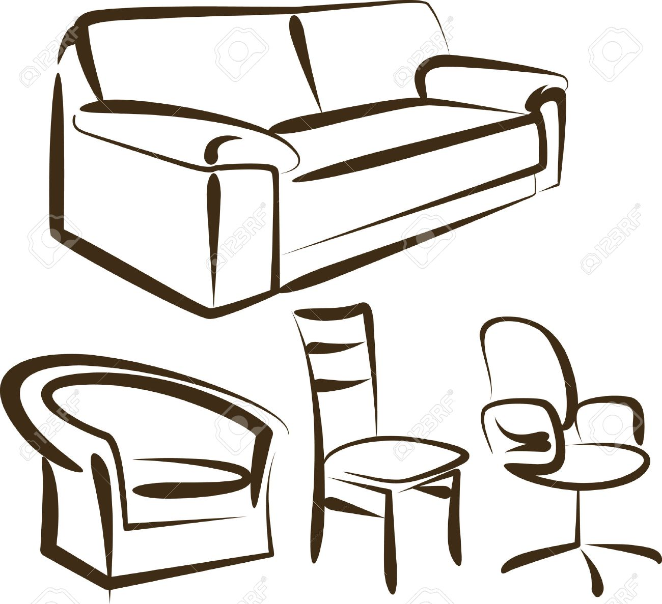 furniture Stock Vector - 7402224