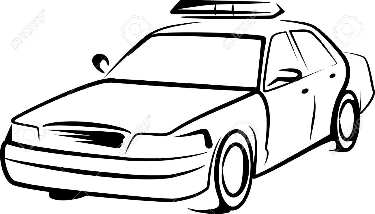 police car Stock Vector - 9507448
