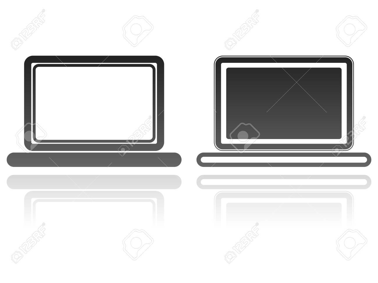 laptop icon Stock Vector - 13009268