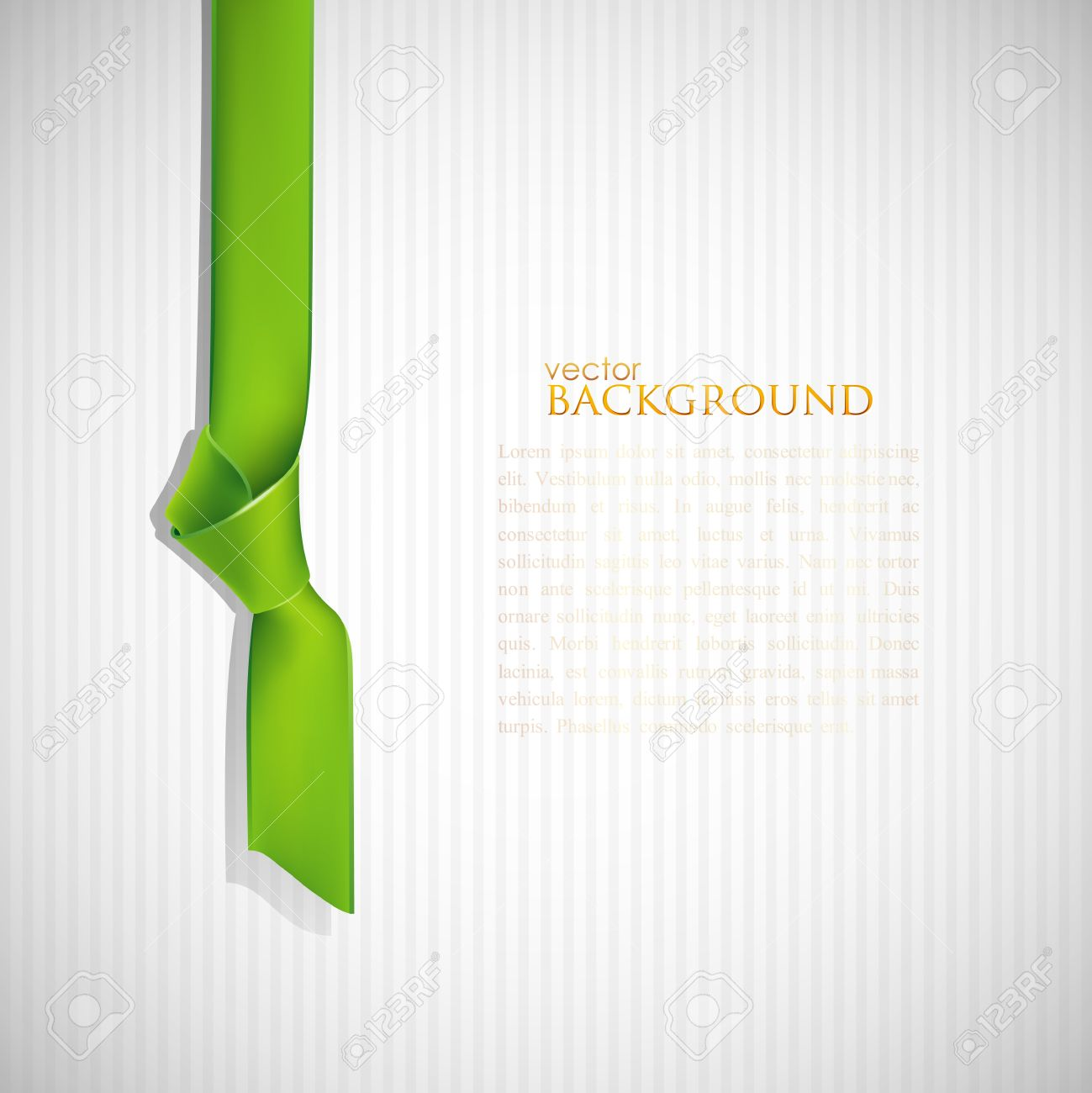 abstract background with green bookmark royalty free cliparts