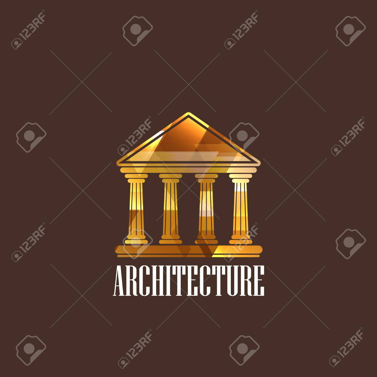 illustration with building icon Stock Vector - 22030279