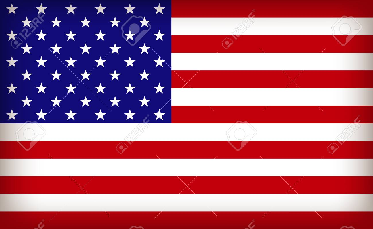 the USA flag Stock Vector - 23337237