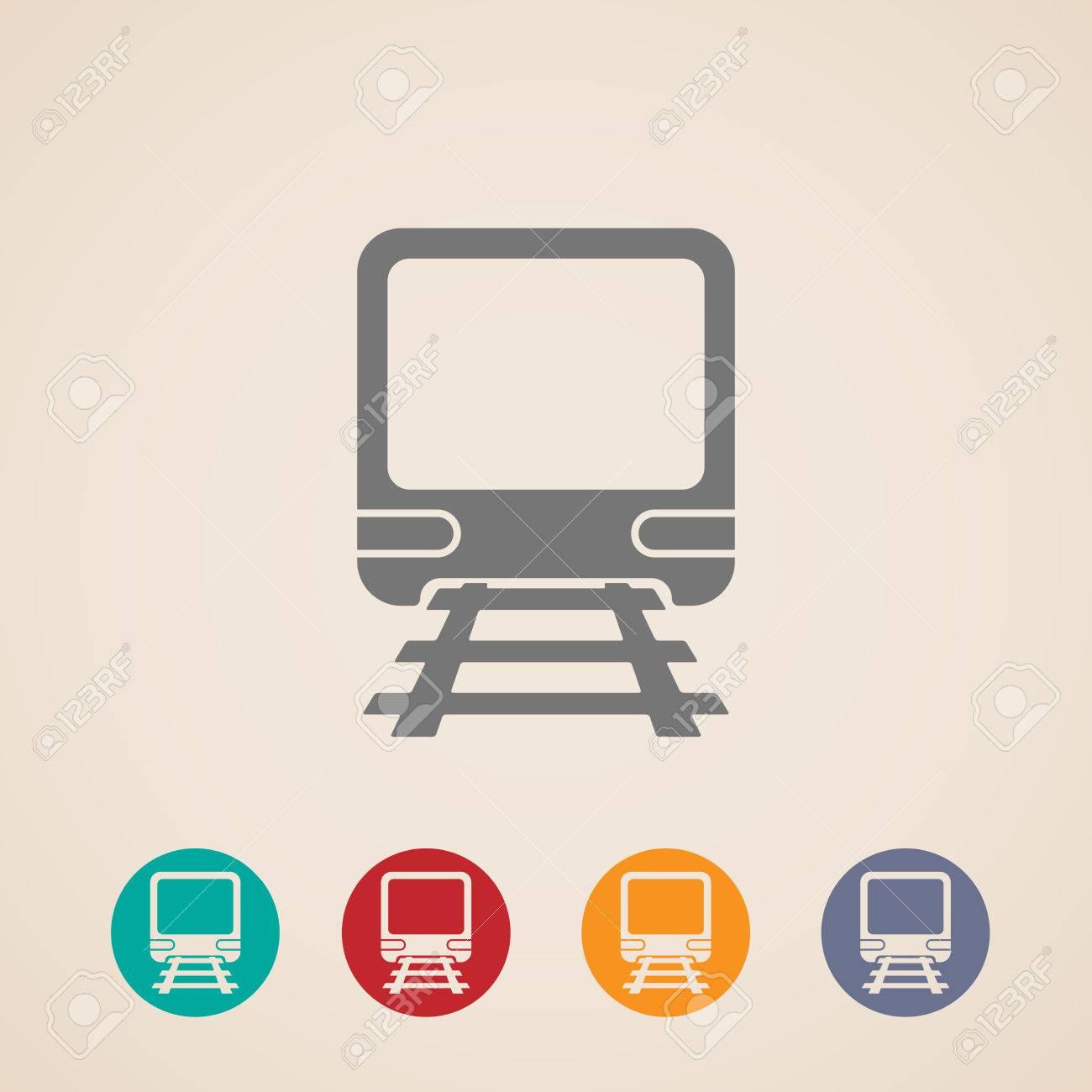 Underground Icon Vector Vector Vector Icon of Train