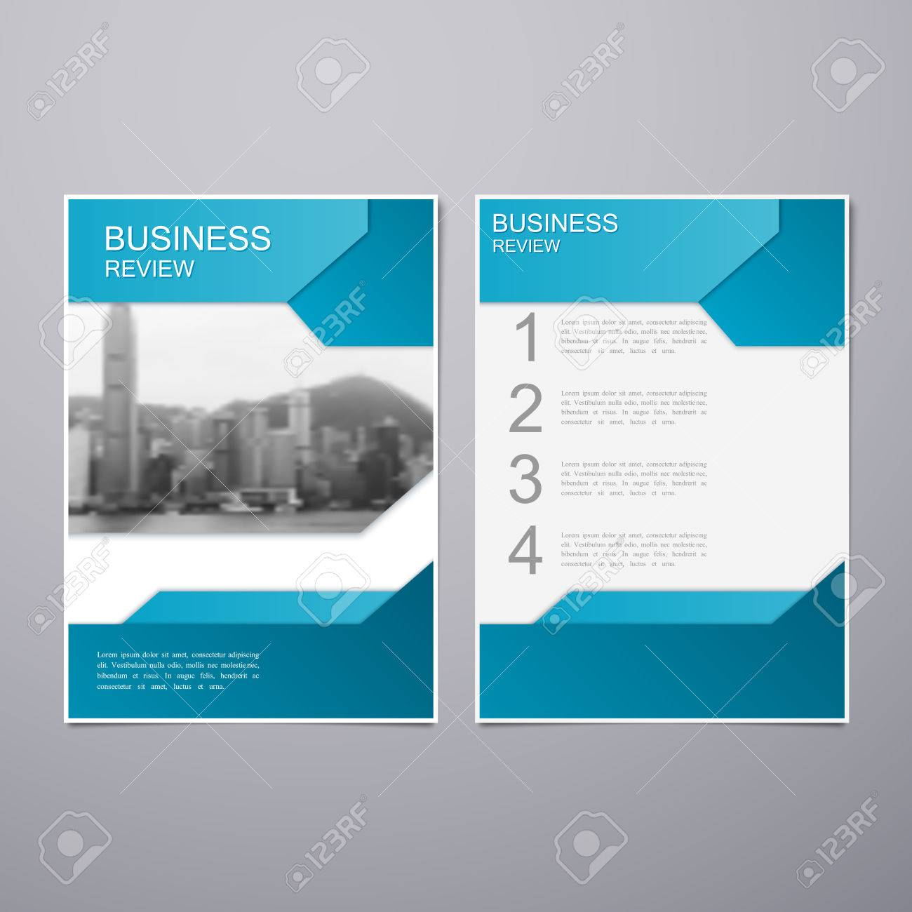 Business review leaflet brochure or flyer a4 size template design business review leaflet brochure or flyer a4 size template design book cover layout design cheaphphosting Images
