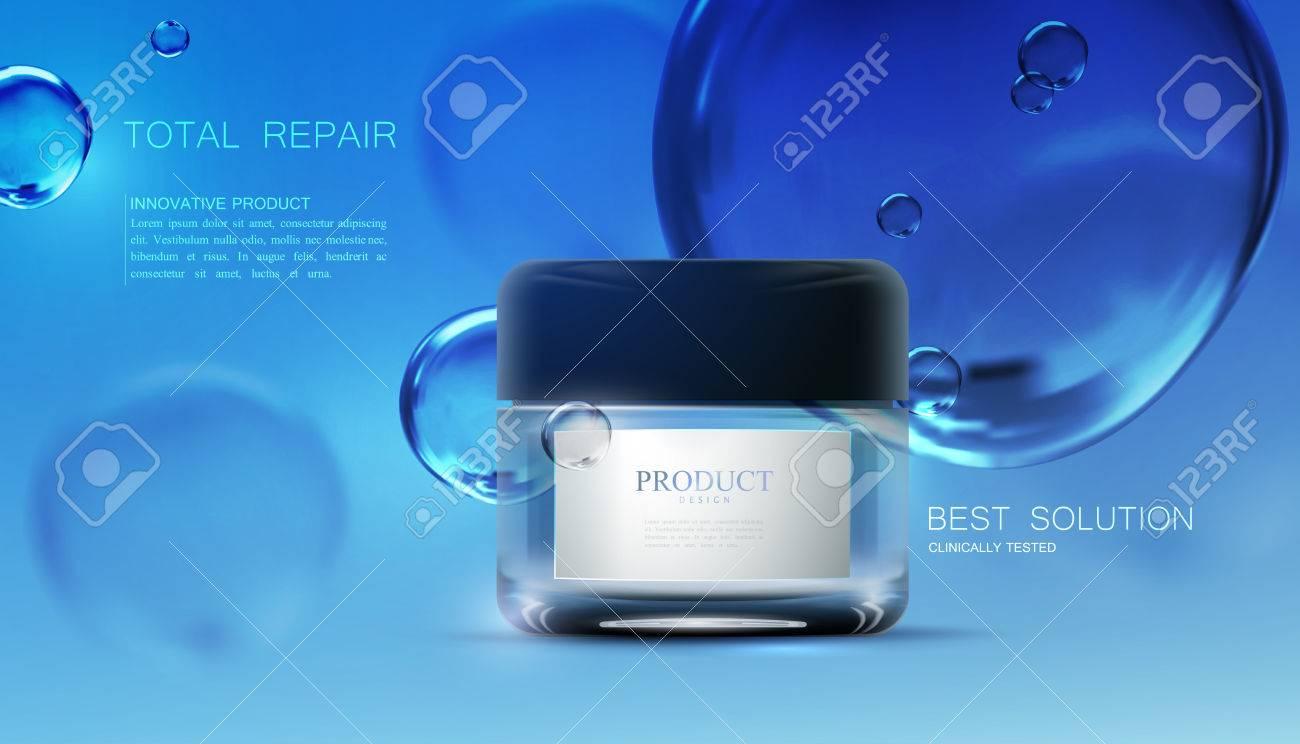 Beauty anti aging cream ads. - 74971843