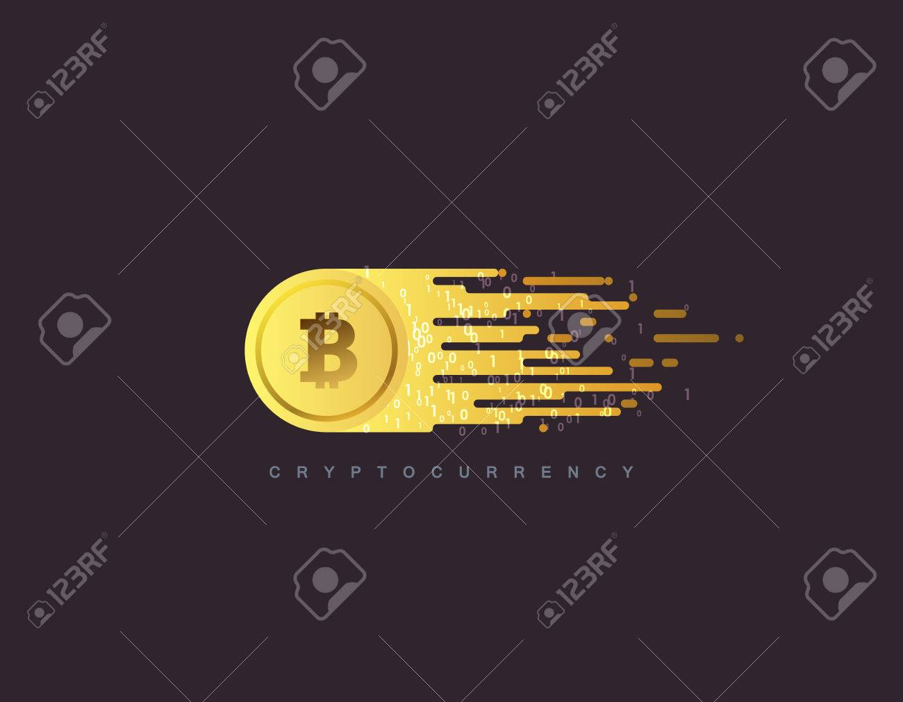 Cryptocurrency concept. - 81168038