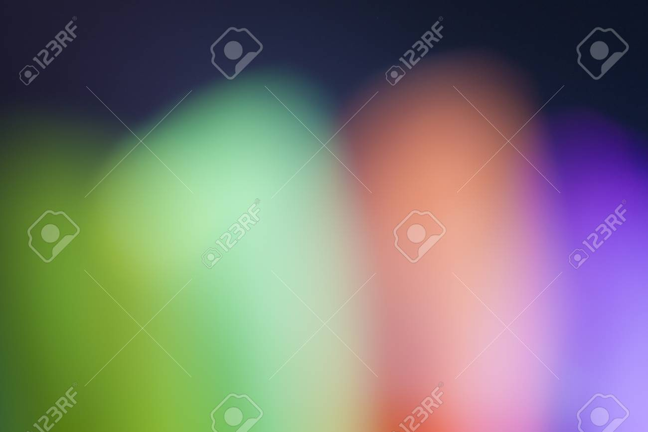 Blur abstract colorful objects for background - 76650260