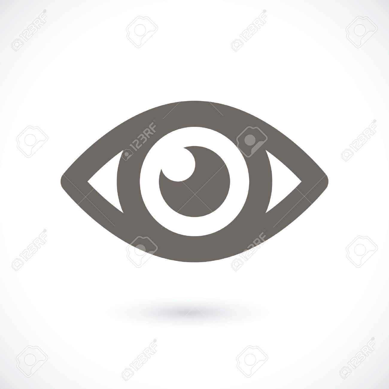Eye icon Stock Vector - 22593239