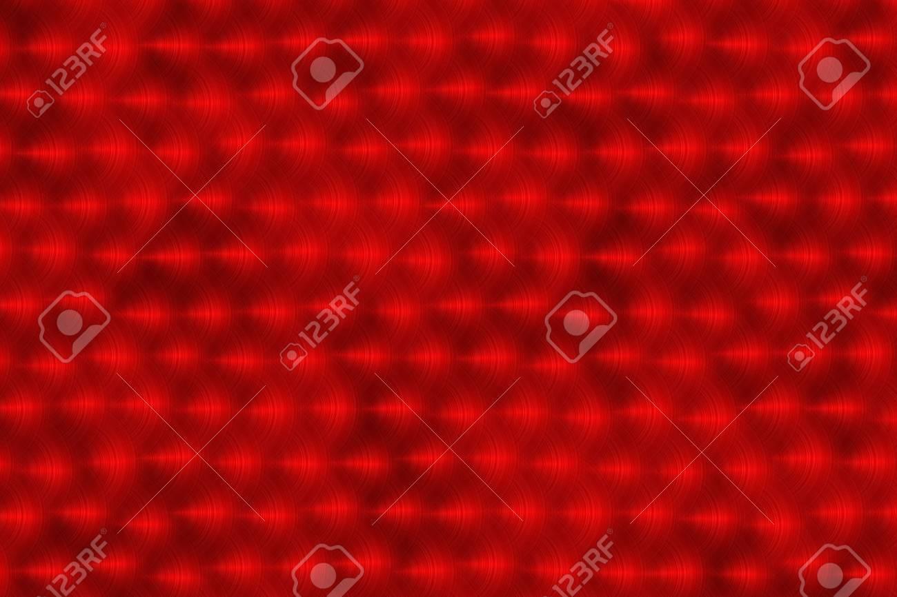 Red brushed metal Stock Photo - 16926474