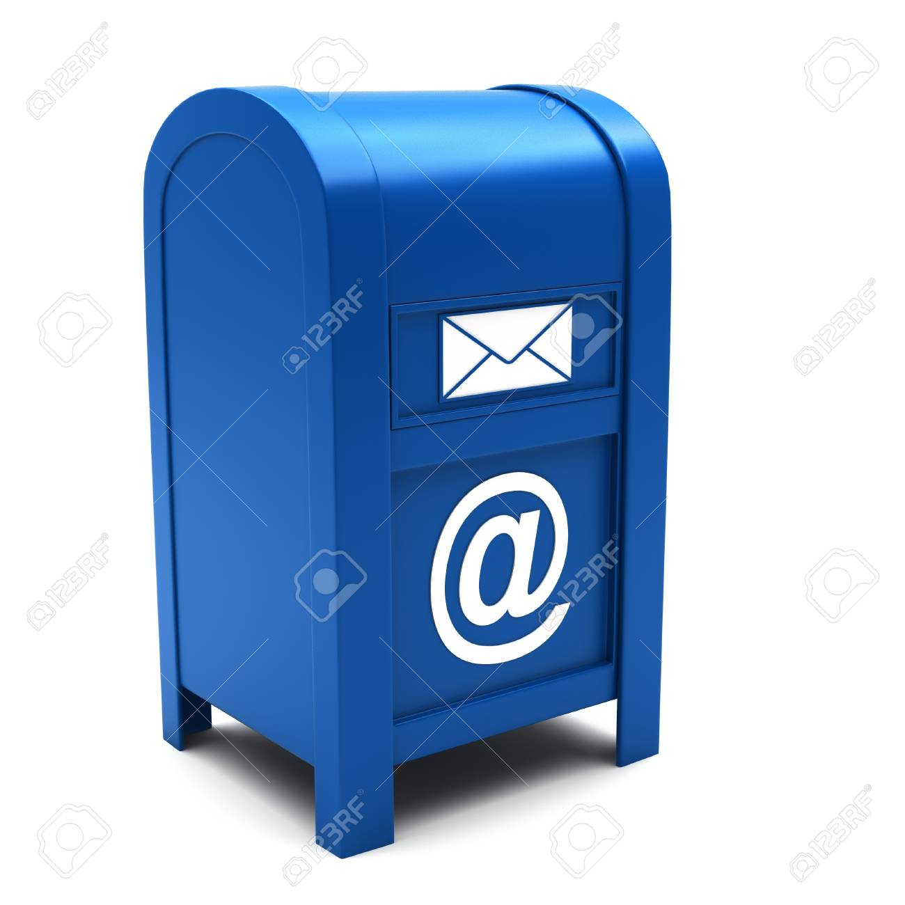Mailbox on a white background. Stock Photo - 13320967