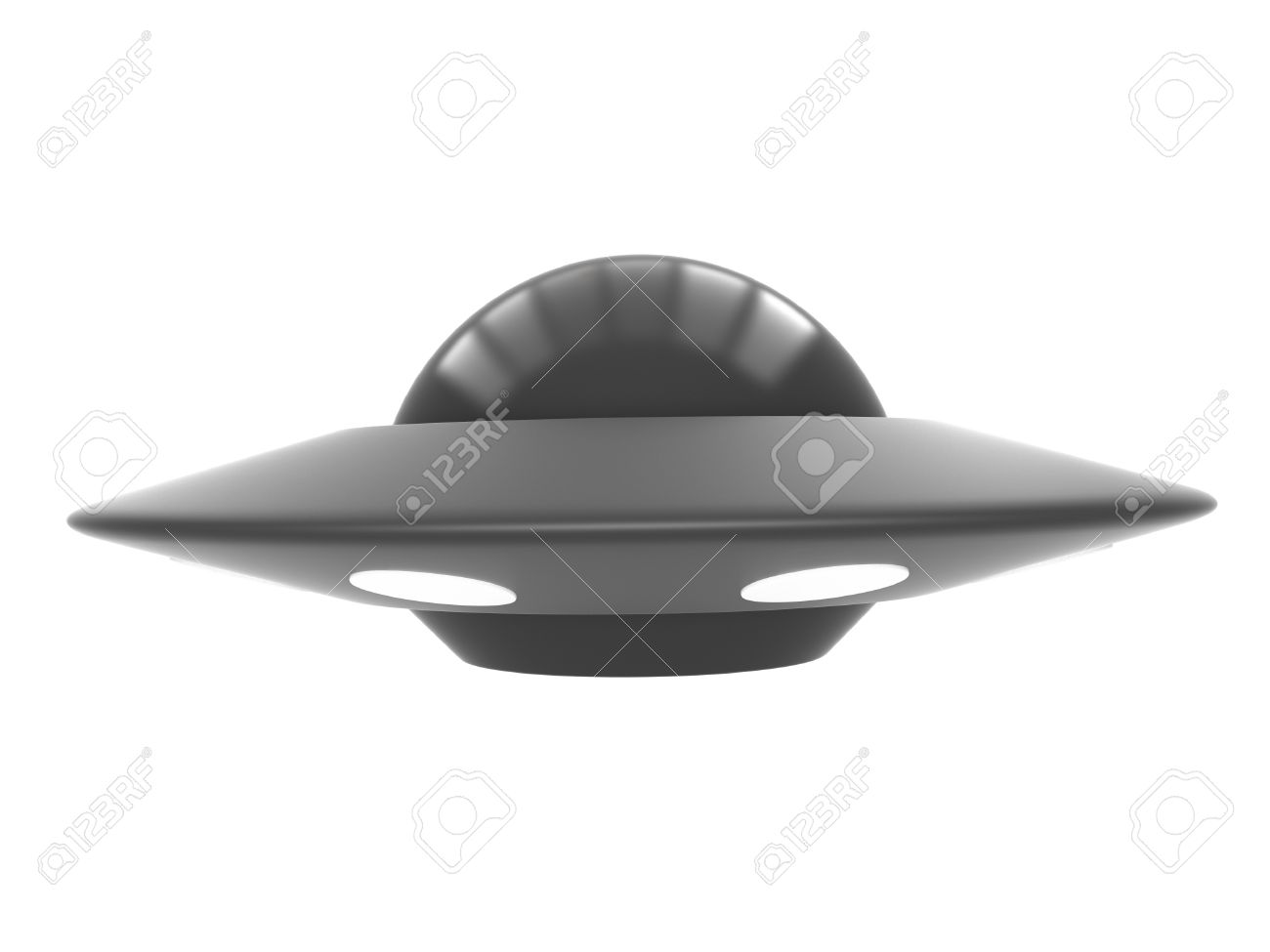 Ufo Isolated On White Background Stock Photo, Picture And Royalty ... for Ufo Black Background  186ref