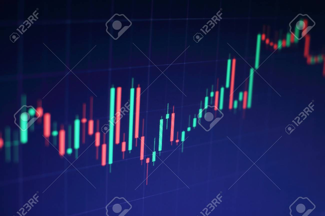 Business Success And Growth Conceptock Market Business Graph
