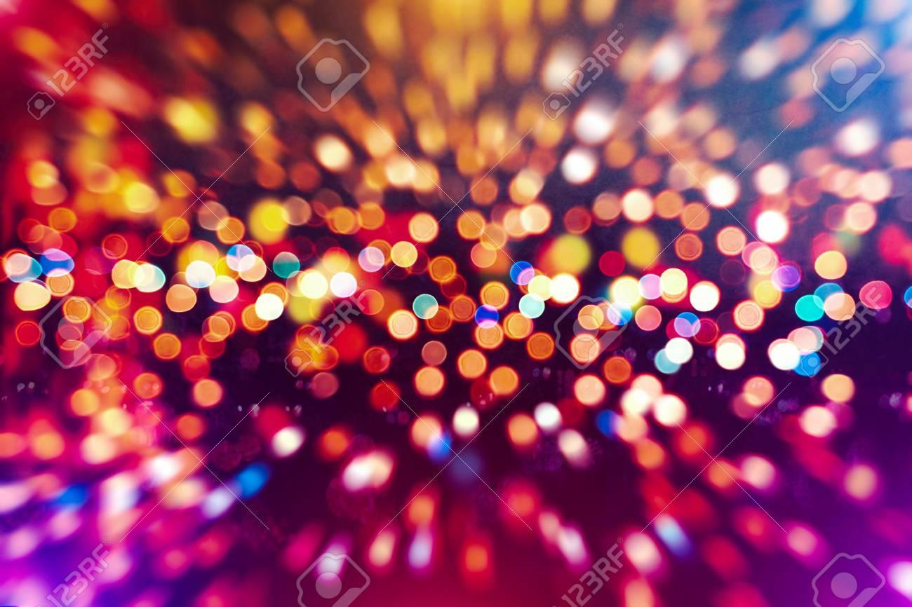 Glittering Shine Bulbs Lights Backgroundblur Of Christmas Wallpaper Decorations Conceptholiday Festival Backdrop