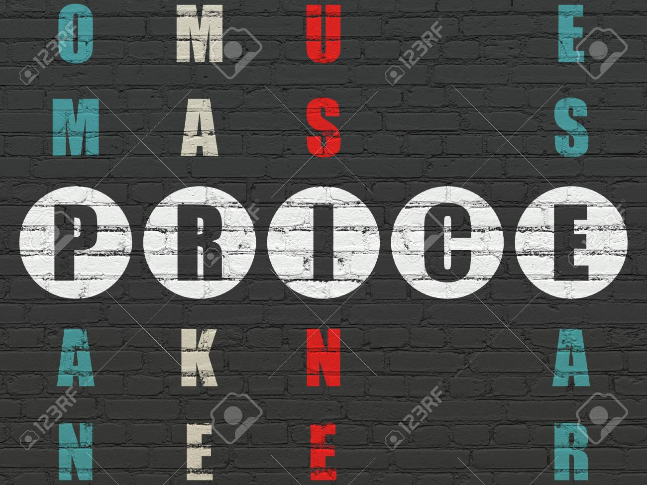 Parete Di Legno Cruciverba : Immagini stock concetto di marketing verniciato bianco parola