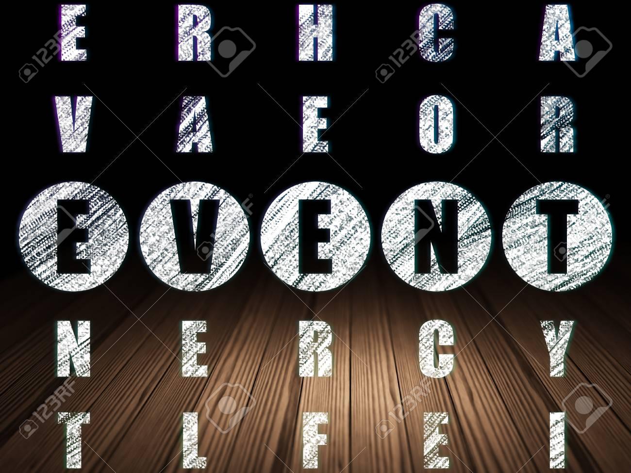 Holzfußboden Kreuzworträtsel ~ Urlaub auf dem konzept: glühende wort ereignis kreuzworträtsel im