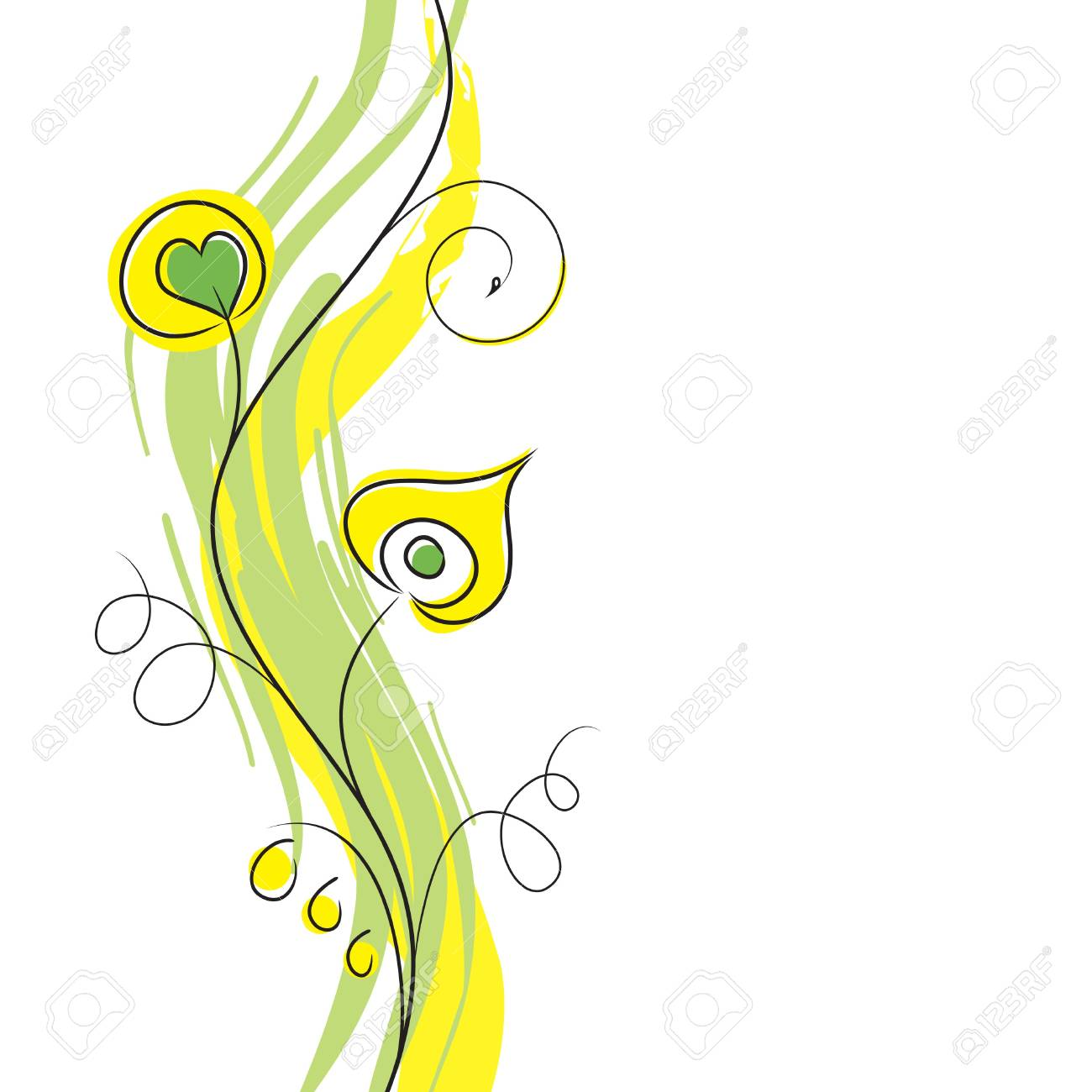 Floral Design Stock Vector - 7101727