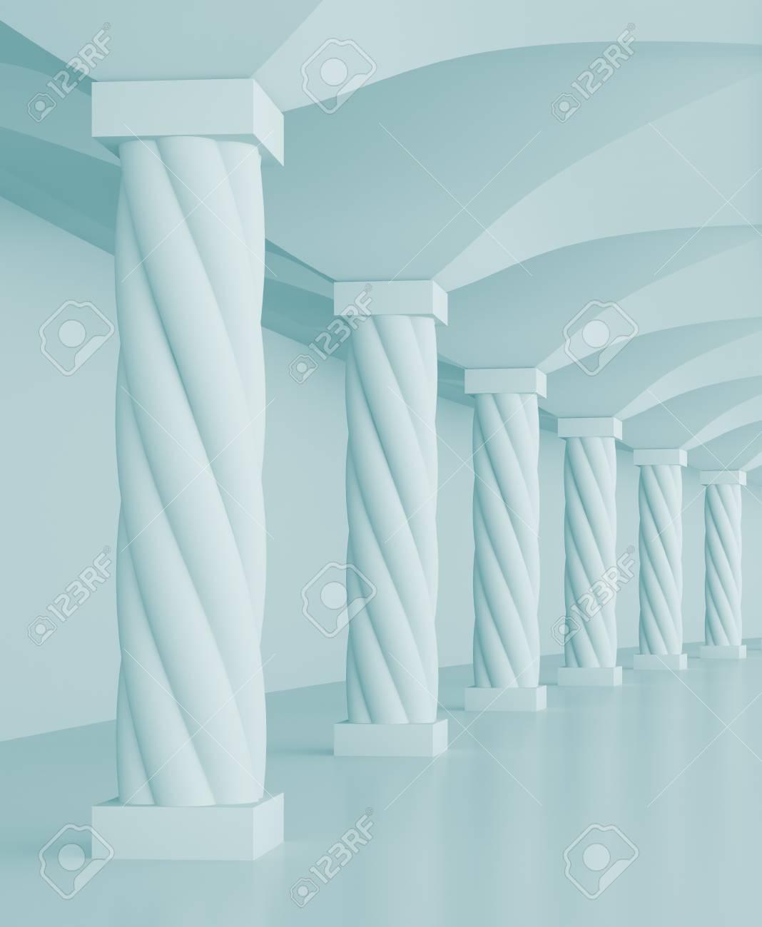 Columns Hall Stock Photo - 8031425