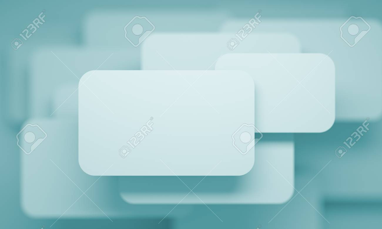 Abstract Business Card Stock Photo - 12304751