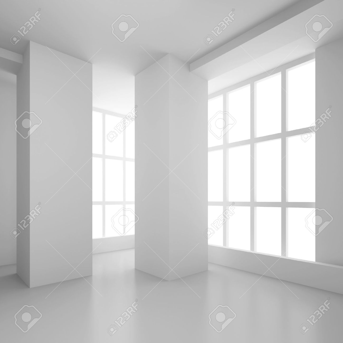 Empty Room Interior Stock Photo - 16067831