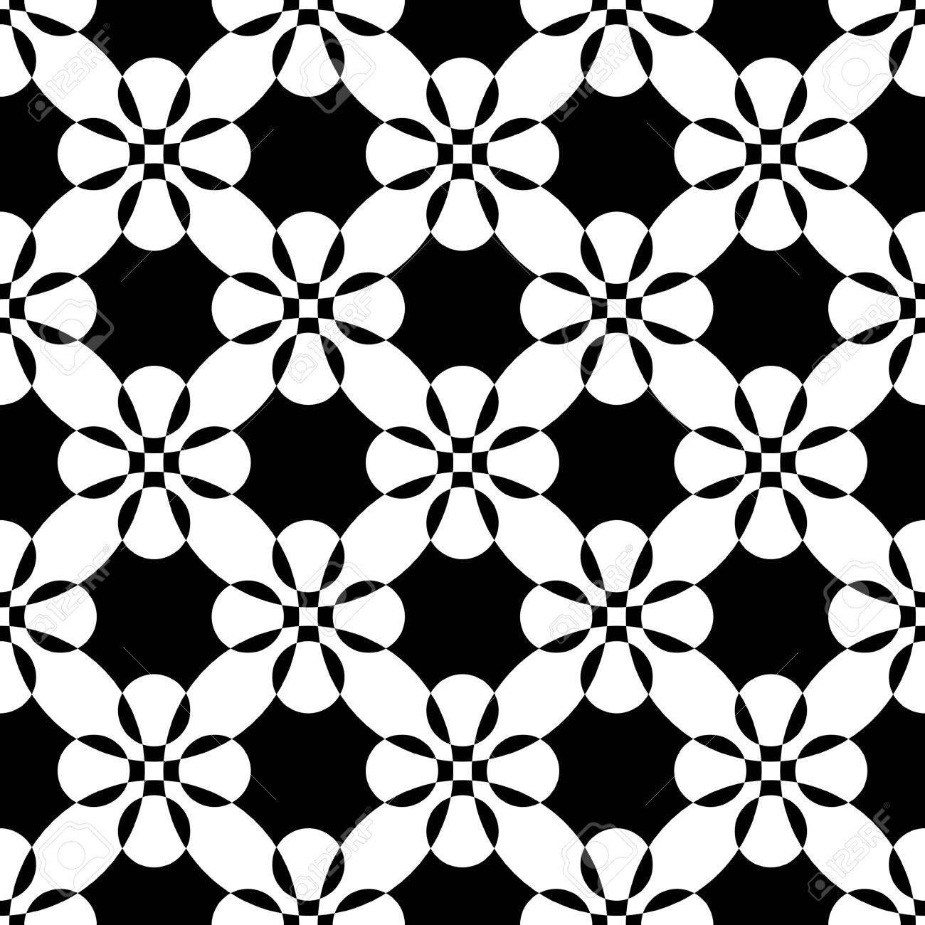 seamless flower pattern vector monochrome texture royalty free rh 123rf com flower pattern vector black and white flower pattern vector png