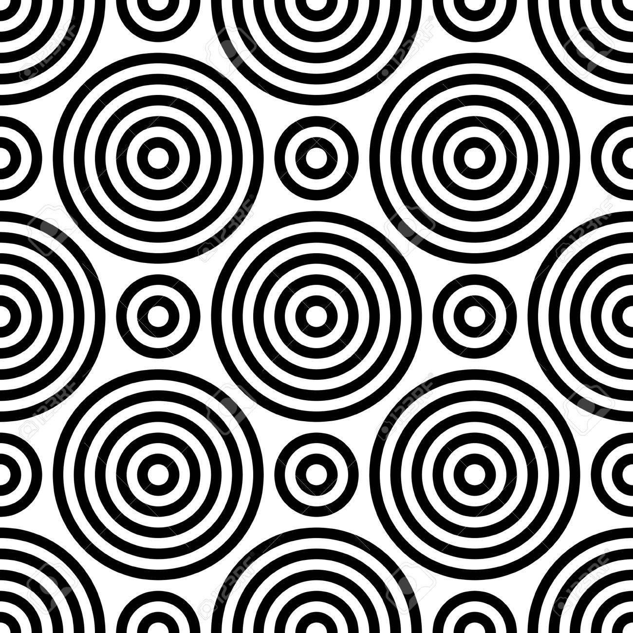 Vettoriale Cerchio Modello Senza Soluzione Di Continuità Estratto