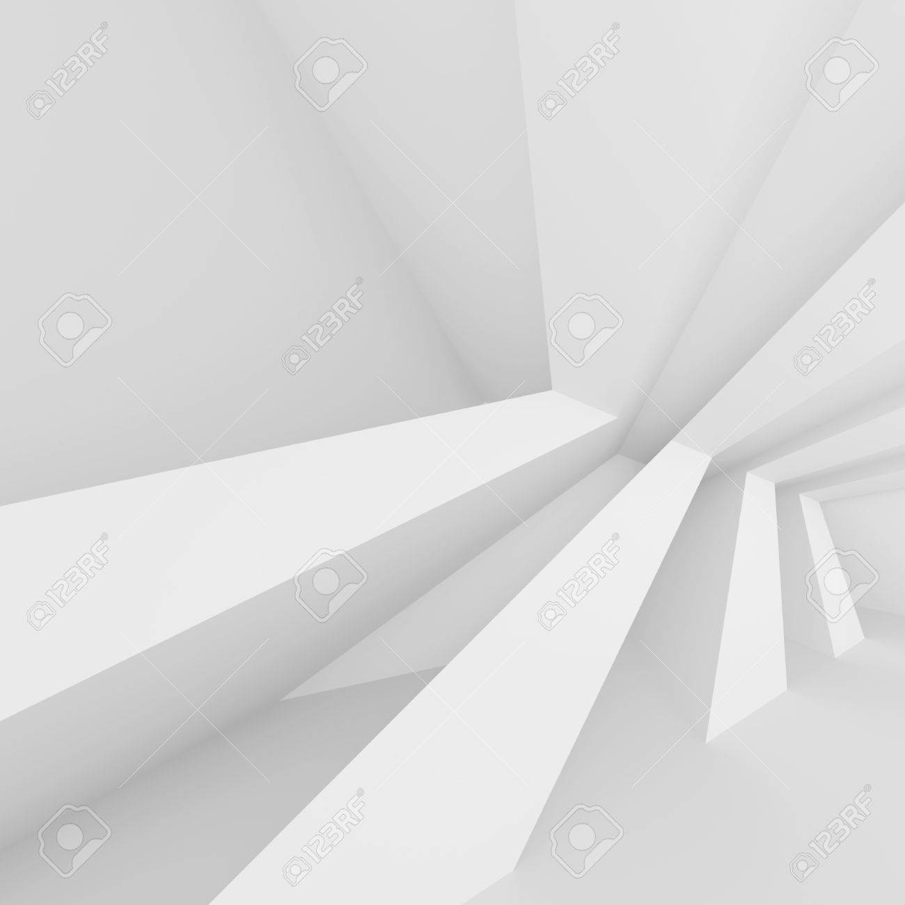 3d Illustration Of White Column Interior Design Abstract Architecture Stock Photo Picture And Royalty Free Image Image 62493704