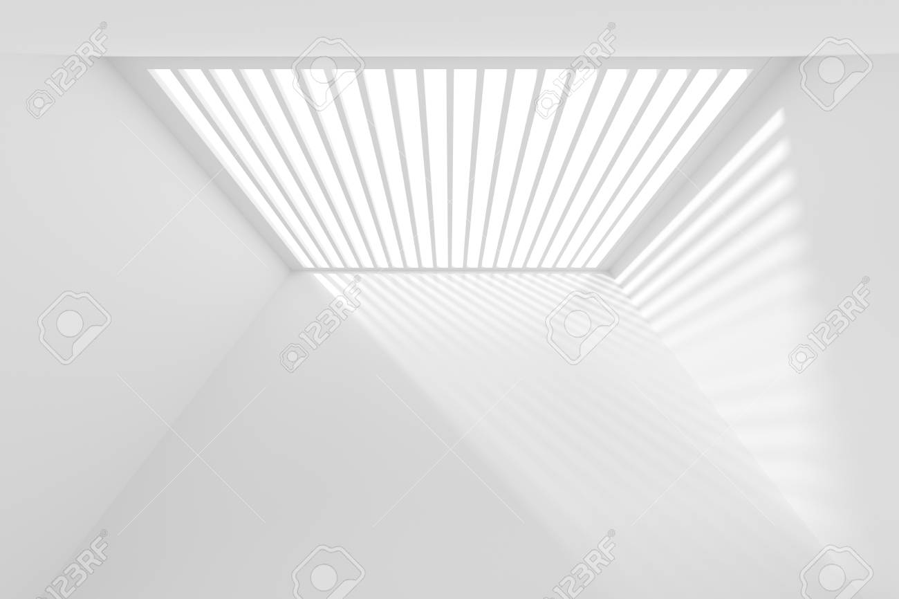 abstract architecture wallpaper white modern background 3d stock