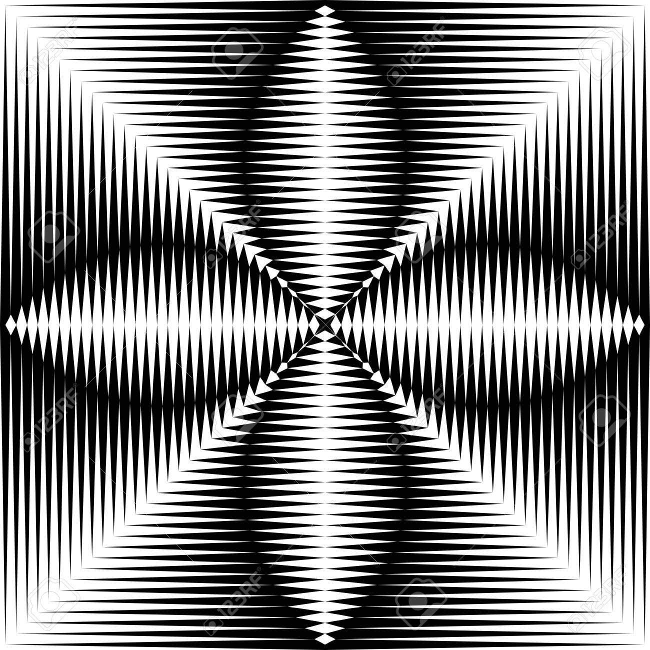 Black And White Gradient Background Optical Illusion Wallpaper