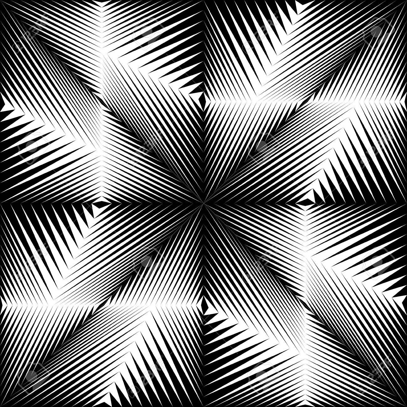 Vector Black And White Gradient Background Optical Illusion Wallpaper Abstract