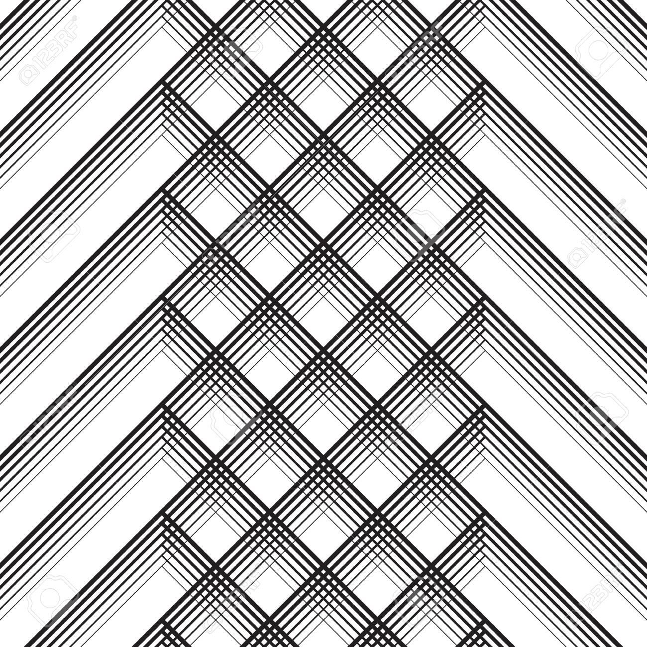 Ornamento Británico De La Tela Escocesa Resumen Diagonal Delgada ...