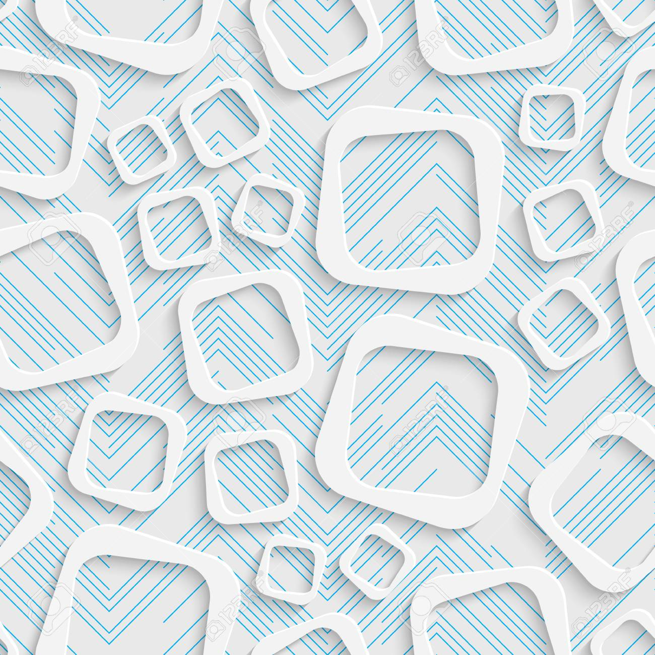 . Seamless Contemporary Pattern  Abstract Web Background  Modern