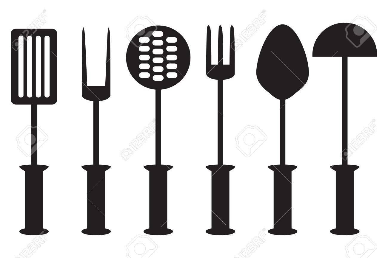 Herramientas Cocina | Coleccion De Herramientas Cocina Accesorios De Cocina Silueta
