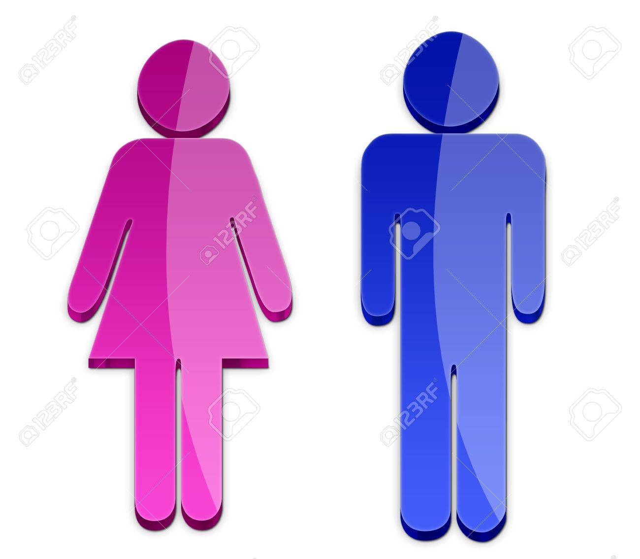 men and women symbol stock photo, picture and royalty free image. image  13297968.  123rf