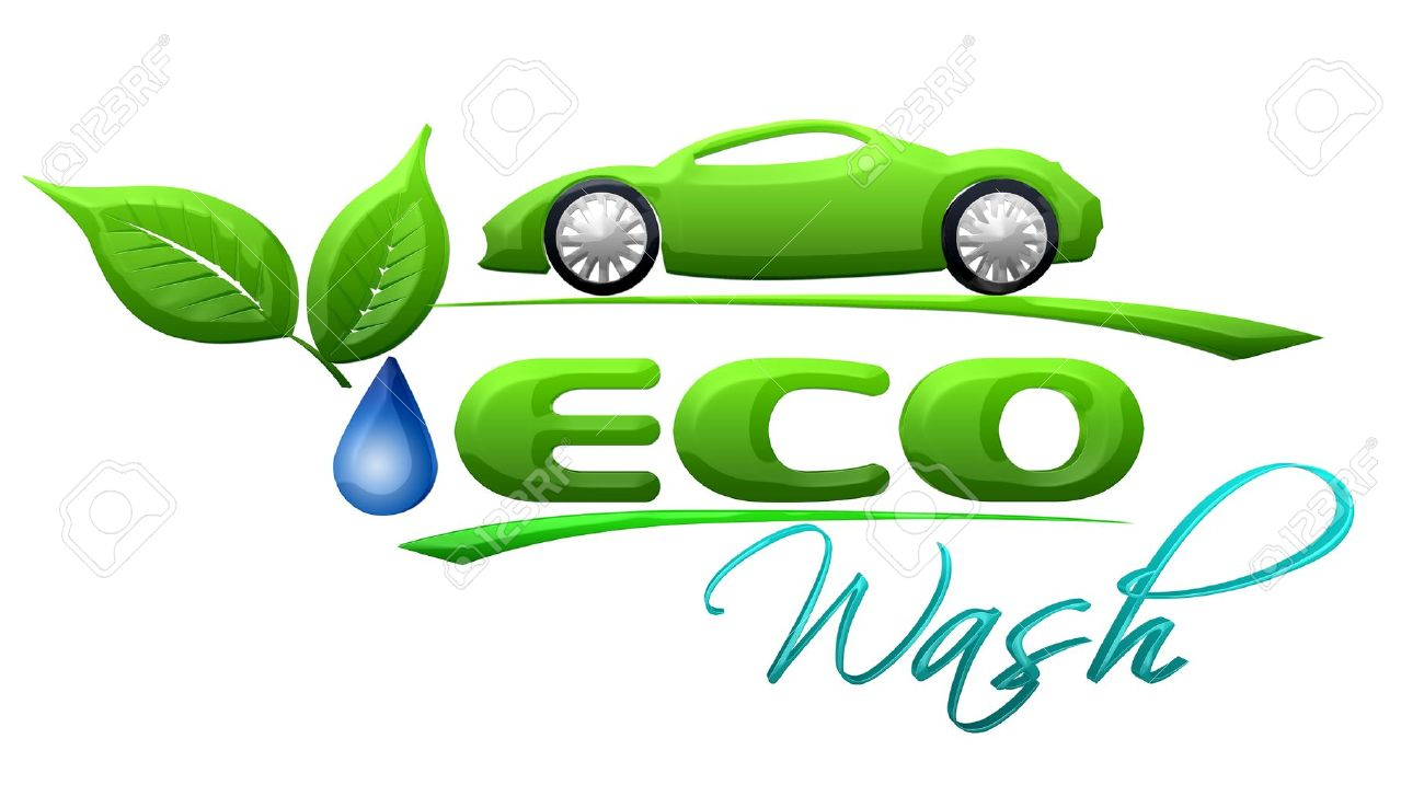 eco car wash symbol stock photo 14662527