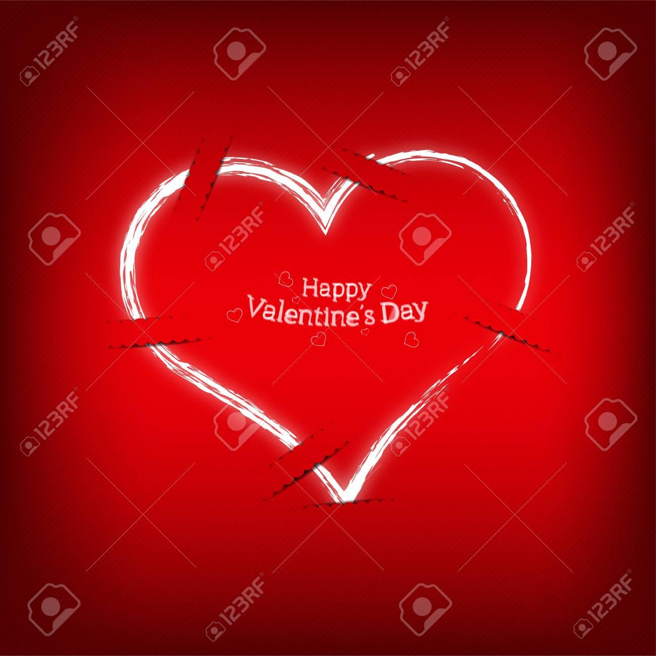 Red Pocket Love Stock Vector - 16810531