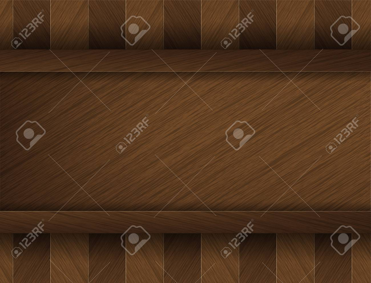 Wood Floor Background Concept with space for customer text. Stock Vector - 17853444