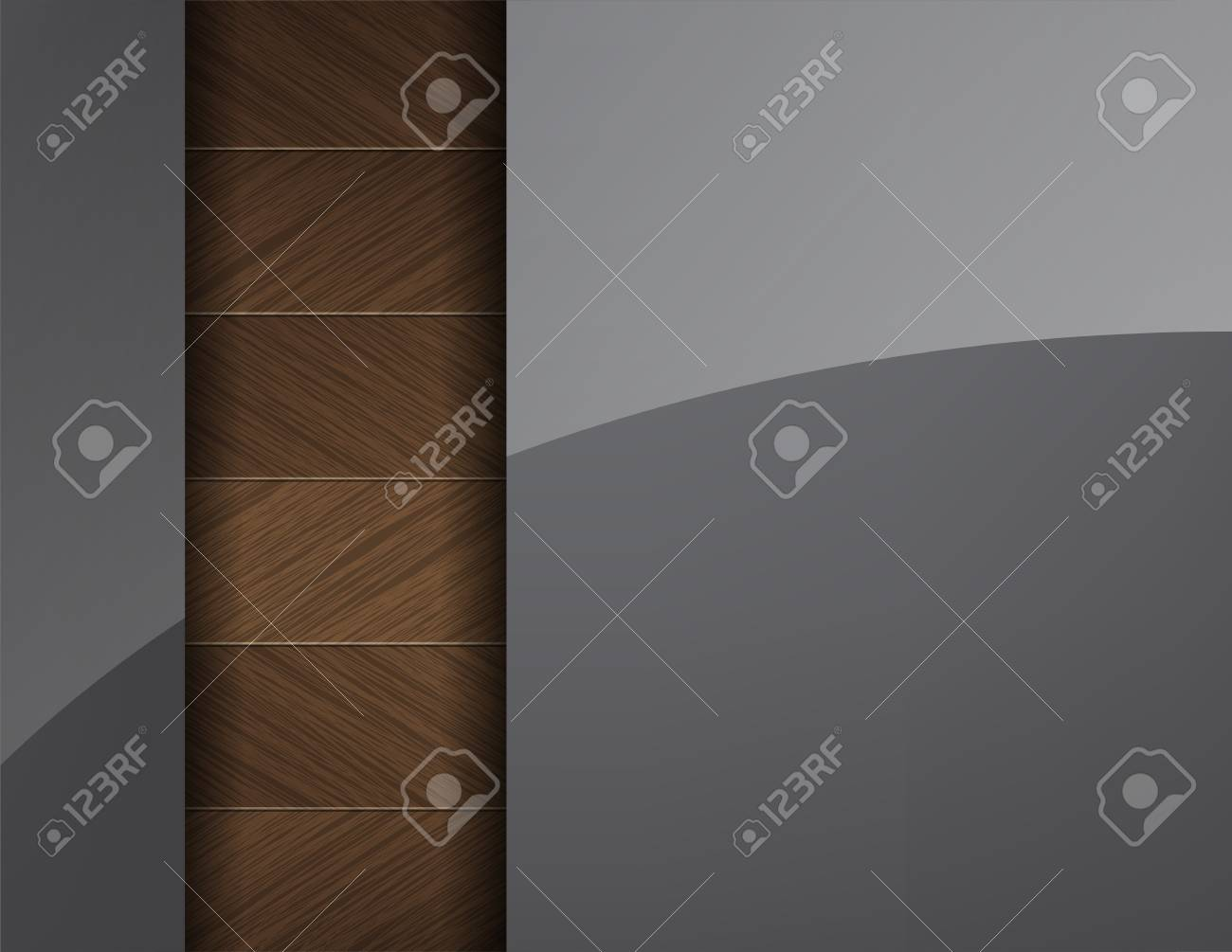 Business background with wood insertion and a black space for text Stock Vector - 18384246