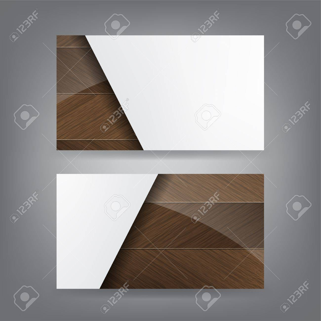 Shiny wood and paper theme business card template royalty free shiny wood and paper theme business card template stock vector 18384272 reheart Choice Image