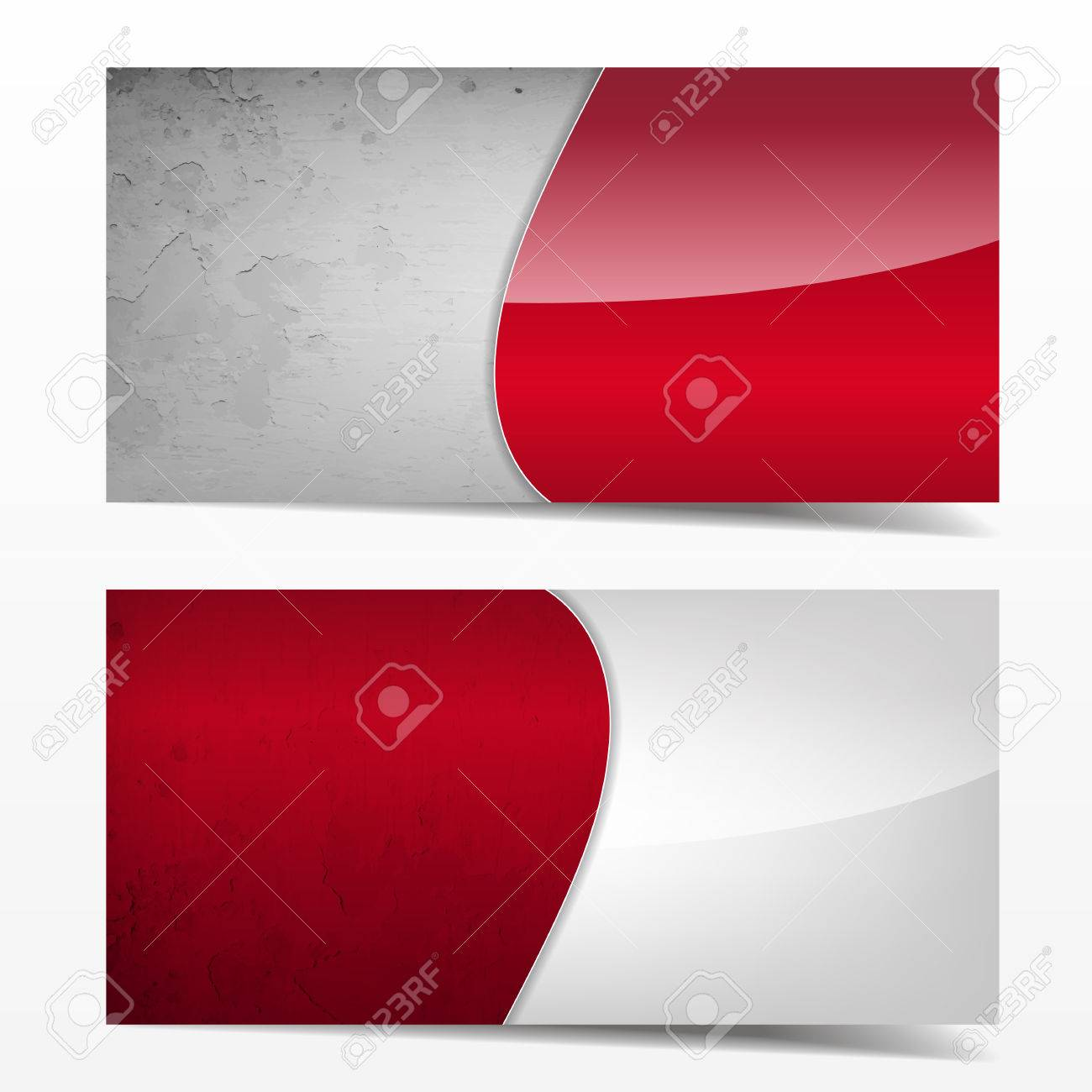 Red and grey grunge template great use for business cards great use for business cards backgrounds or banners colourmoves