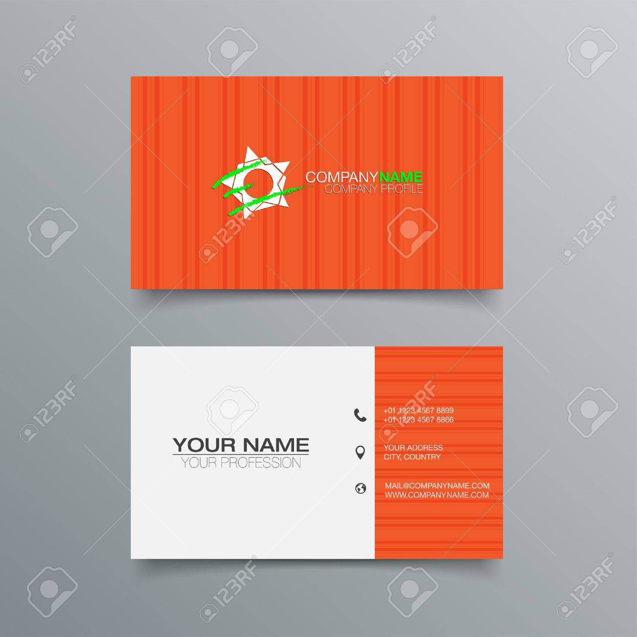 Business card background design template stock vector illustration business card background design template stock vector illustration stock vector 43837059 reheart Gallery