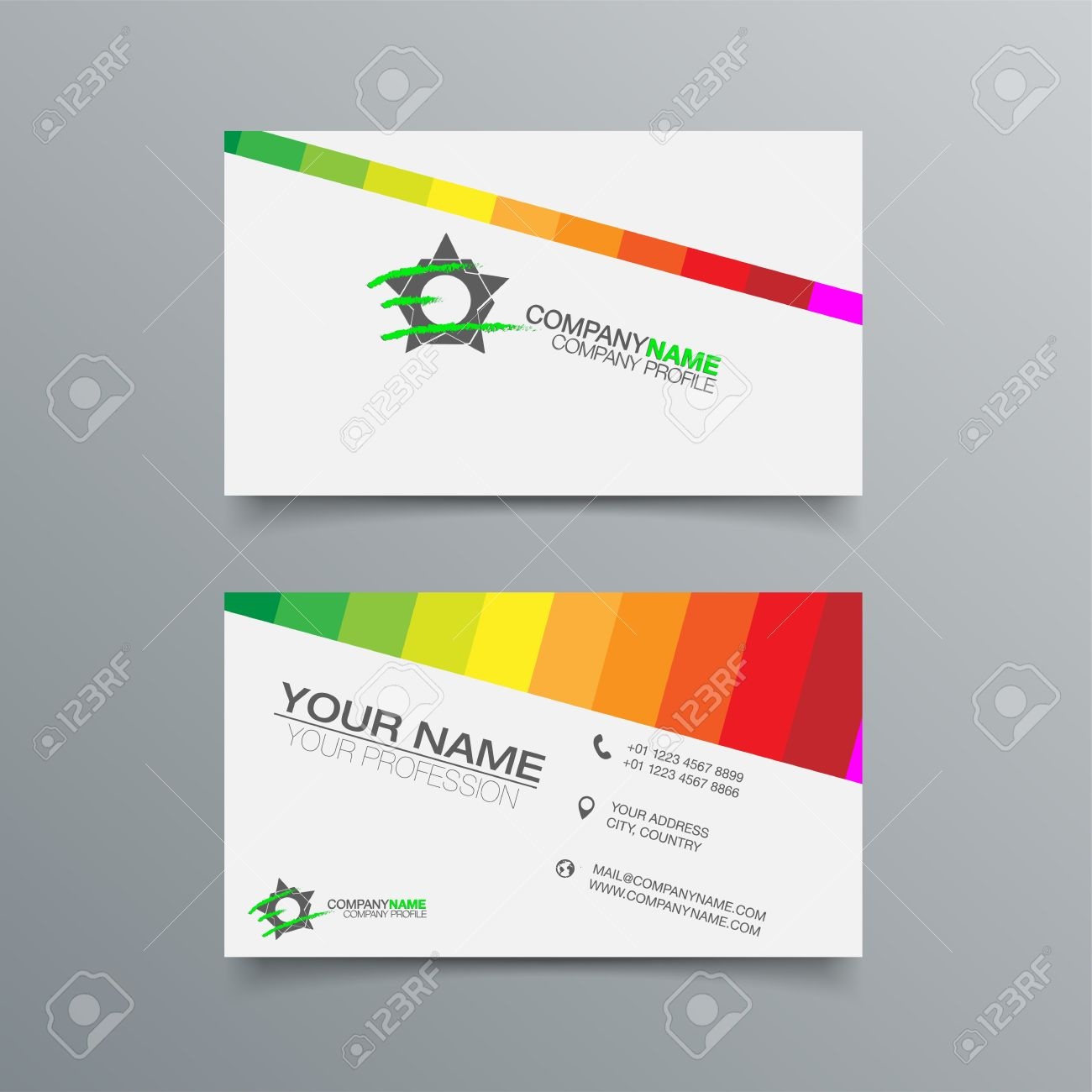 Business card background designs free download images card business card background designs choice image free business cards business card background design template stock vector magicingreecefo Images
